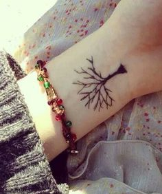 Tree of life.. Maybe a little smaller with Family underneath More
