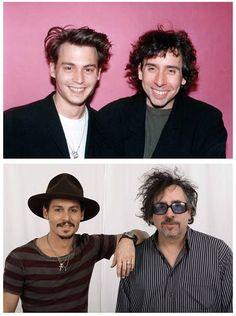 Johnny Depp and Tim Burton :-)