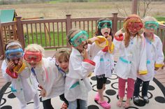 Mad Scientist Costume Girl | ewe hooo!: Maddie's Mad Science Birthday Party— Customer Feature