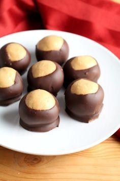 31e52651ac buckeyes-peanut butter balls Peanut Butter Recipes