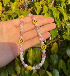 Handmade Wire Jewelry, Funky Jewelry, Trendy Jewelry, Summer Jewelry, Cute Jewelry, Jewelry Crafts, Jewelry Accessories, Bead Jewellery, Jewelery