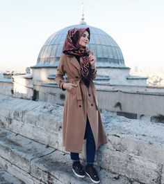 Military khaki hijab style – Just Trendy Girls Hijab Chic, Casual Hijab Outfit, Hijab Dress, Islamic Fashion, Muslim Fashion, Military Fashion, Modest Fashion, Fashion Outfits, Muslim Girls
