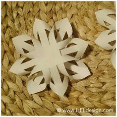Nydelige papirstjerner som er enklere å lage enn det ser ut som.