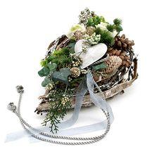 Grabgesteck-Grabschmuck-Allerheiligen-Gesteck-Engel-Totensonntag-Herz-Rose-02 Grapevine Wreath, Grape Vines, Wreaths, Floral, Ebay, Home Decor, Flowers, Cemetery Flowers, Decoration Home