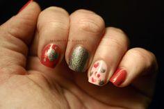Valentine's Manicure #manicure #nailpolish #nailart