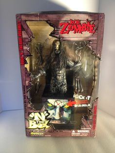 Rob Zombie N The Box Doll Manufactured By Art Asylum Is On
