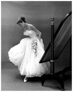 "robertocustodioart: "" Suzy Parker by Georges Dambier 1953 """