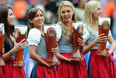 Oktoberfest Munich Beer Girls | Oktoberfest!!! And Now For Beer, Beer, More Beer and Women in Dirndl's ...