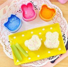 New 3pcs/set hello kitty panda rabbit Rice Sushi Mold Mould Cutter Maker Kitchen Food Sushi tool kit on Etsy, $4.53