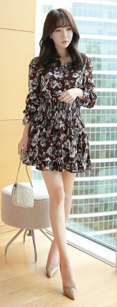 LUXE ASIAN FASHION - DRESS - Luxe Asian Women Design Korean Model Fashion Style…