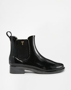 Finally an alternative to the Hunter ones I wanted!  Ted Baker Lyran Black Rubber Ankle Boots