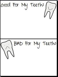 10 Worksheets That Will Teach Children the Basics of Dental Health ...