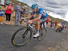 Vuelta a Espana stage 14 Ryder Hesjedal attacked out of the breakaway on the brutally steep ascent