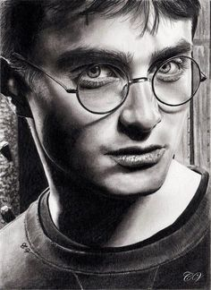 Pencil Artist Corinne's Portraits (French) | Daniel Radcliffe by Corinne