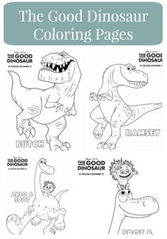 The Good Dinosaur FREE Activity Sheets! #GoodDino