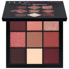 Obsessions Eyeshadow Palette in Mauve Huda Beauty Sephora 27 Best Eyeshadow Palette, Makeup Palette, Eye Palette, Huda Beauty Makeup, Eye Makeup Tips, Makeup Ideas, Sephora, Maybelline, Maquillaje Kylie Jenner
