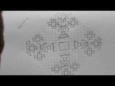 dots simple and easy big sankranthi rangoli Small Rangoli Design, Rangoli Kolam Designs, Rangoli Designs With Dots, Rangoli With Dots, Sankranthi Muggulu, Floor Art, Channel, Designers, Decorations