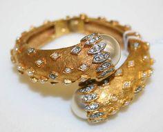 Bracelet, ca. 1970. American. Metal, glass. The Metropolitan Museum of Art, New York. Anonymous Gift, 1986 (1986.124.2).