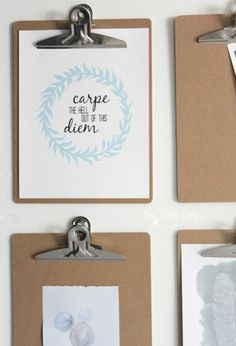 Carpe the Hell out of this Diem - free printable.