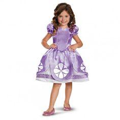 Disfraz de La Princesa Sofía classic para niña