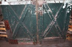 Rustic factory or barn doors with chevron designPurchase