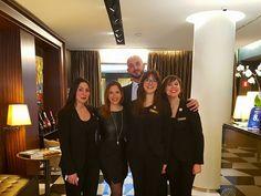 Sempre pronti, sempre bellissimi, sempre Hotel Milano Scala!  #team #milanoscala  http://hotelmilanoscala.it/en/