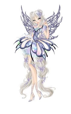Butterflix couture by Lissaveta. on Winx Club Fairy Drawings, Cute Drawings, Character Concept, Character Art, Les Winx, Bloom Winx Club, Beautiful Fairies, Fairy Art, Magical Girl