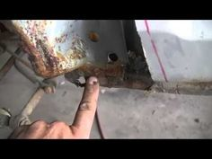 Proper automotive rust repair - removal, welding, and all steps inbetween! Auto Body Work, Auto Body Repair, Car Repair, Car Restoration, Car Hacks, Car Cleaning, Cleaning Hacks, Diy Car, Car Painting