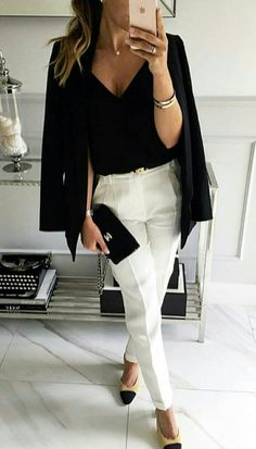 cute and comfy outfits Diva Fashion, Work Fashion, Fashion Outfits, Basic Style, Look Office, Business Outfits Women, Capsule Wardrobe Work, Corporate Wear, Power Dressing