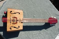 Cigar box mandolin