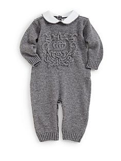 Dolce & Gabbana Infant's Wool-Blend Playsuit