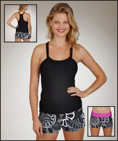 8afa51b23709 (Limited Supply) Click Image Above  Next Good Karma Shirred Tankini And  Still Waters Swim Short