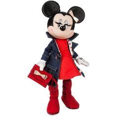 Disney Signatures, Minnie Mouse Doll, Walter Elias Disney, Disney Merchandise, Clutch Purse, Polka Dots, Animation, Cartoon, Dolls