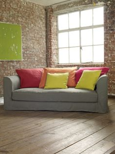 A Bold Flash Of Colour And Ultimate Comfort In The Living Room With Miller Sofa