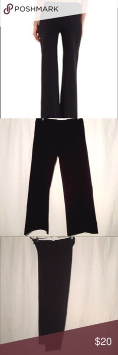 prAna Breathe Collection Black Flared Yoga Pants Black yoga pants with slightly flared leg. Drawstring waist. 90% Supplex 10% Lycra. Gently worn. Light piling but still great well made yoga pants. Prana Pants Boot Cut & Flare