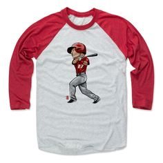 Mike Trout Cartoon R Los Angeles A MLBPA Officially Licensed Baseball T-Shirt Unisex S-3XL