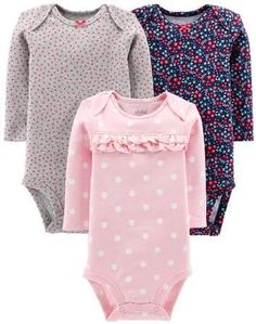Sleepwear Clothing, Shoes & Accessories Objective Carter's Baby Girl Footed Pajamas/sleeper 3 Months 2-pack In Pain
