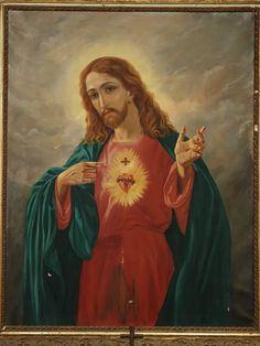 Jesus Painting, Heart Of Jesus, Mona Lisa, Princess Zelda, Artwork, Christ, Paintings, Fictional Characters, Work Of Art