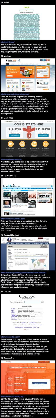 25 websites that make you cleverer... - The Meta Picture