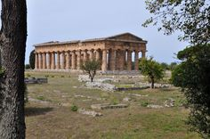 Temple of Hera II, or Neptune, at Paestum; a day trip from Salerno. -->Been there and not many tourists make this stop, but it's a must see.