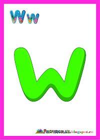 Fise de lucru - gradinita: SET de Planse cu Toate Literele pentru Clasa Aba, Kindergarten, Preschool, Company Logo, Activities, Logos, Alphabet, School, Words