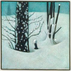 Tsunemasa Takahashi - Winter Landscape on Behance