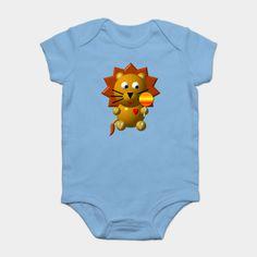 CUTE #LION WITH A #LOLLIPOP #cute #animals #Thirts #hoodies #mugs #prints #cases #sale #DigitalArt #716 #kids