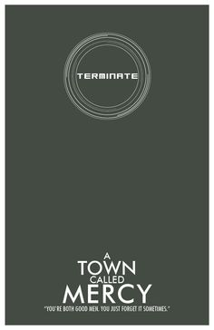 Doctor Who Inspired Poster: A Town Called Mercy
