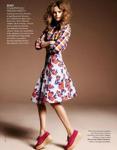 Juju Ivanyuk by Marcin Tyszka for Elle France January 2012 (5)