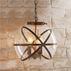 Steampunk + Home = Love!!! Steam Punk Indoor and Outdoor Hanging Lantern |Shades of Light  #GElighting
