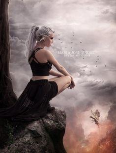 En tierra de dragones by CrisestepArt on deviantART