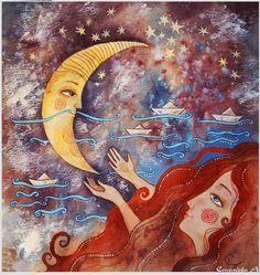 La Luna by Anastasia Stolbova