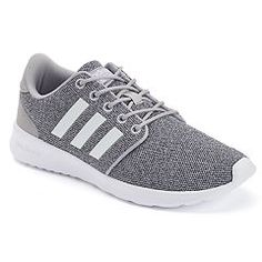 sports shoes c599b c82ee Step out in sleek street style and incredible comfort wearing the womens Cloudfoam  QT Racer shoes from adidas.