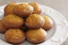 Amish Friendship Bread Recipes. This picture is of the Lemon Poppyseed Muffins.